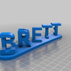 dual_words_20200704-60-1rcekz2.png Download free STL file Brett julie • 3D printing model, babjazz