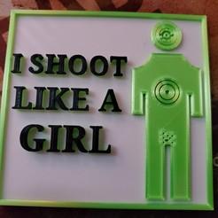20200907_173107.jpg Download free STL file Like a girl. • 3D printer design, babjazz