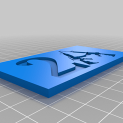2A2a.png Download free STL file 2A sign • 3D print model, babjazz