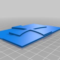 Templar_flag.png Download free STL file Templar flag • 3D printing design, babjazz