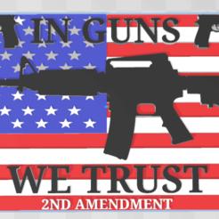Screenshot (24).png Download free STL file In guns we trust. • 3D printable design, babjazz