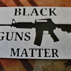 20200727_133804.jpg Download free STL file Black guns matter • Object to 3D print, babjazz