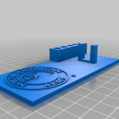 NAA_stand_V.2.png Download free STL file North American arms stand • 3D printing template, babjazz