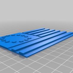 BR_flag.png Download free STL file Betsy Ross flag • 3D printer object, babjazz