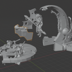 catacomb barge exploded.png Download free STL file Catacomb Command Barge • 3D printing model, damage6