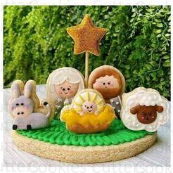 2.JPG Télécharger fichier STL SET 7 MINI Crèches / Portail des crèches Mini-coupe-biscuits • Design pour imprimante 3D, Cookiescutters