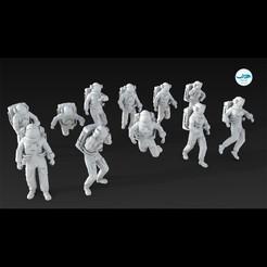 Image000.jpg Télécharger fichier STL Astronaute • Design imprimable en 3D, DolphinStudio