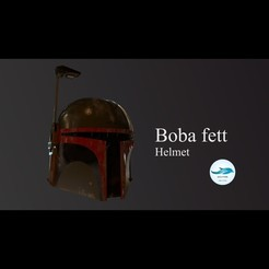 Comp 000.jpg Download STL file Boba fett Helmet • 3D printable object, DolphinStudio