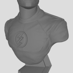 Flash.JPG Download free STL file Flash bust • 3D printing template, stl3dprints