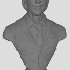 Download free STL file joker bust • 3D printing object, stl3dprints