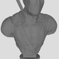 Deadpool.JPG Download free STL file deadpool bust • 3D printable object, stl3dprints