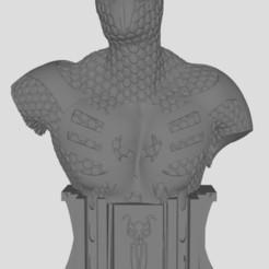Spiderman 2099.JPG Download free STL file spiderman 2099 bust • 3D print design, stl3dprints