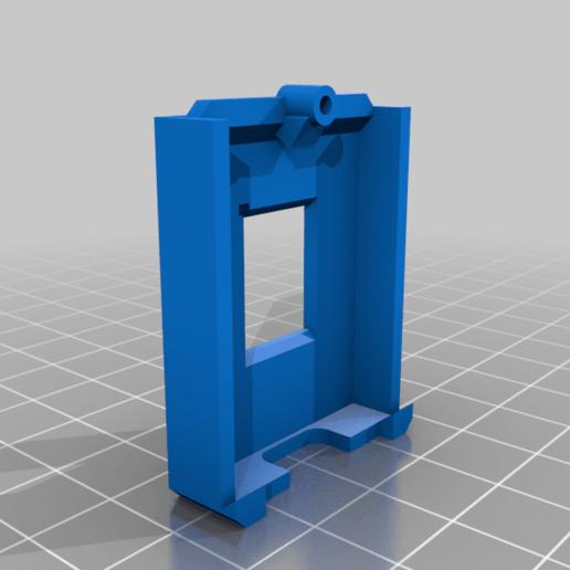 COVER_BODY.png Télécharger fichier STL gratuit Moniteur OLED OctoPi [WemOled] • Plan imprimable en 3D, theveel