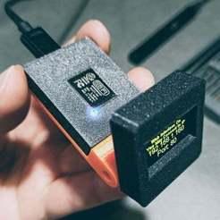 Télécharger fichier STL gratuit Moniteur OLED OctoPi [WemOled] • Plan imprimable en 3D, theveel