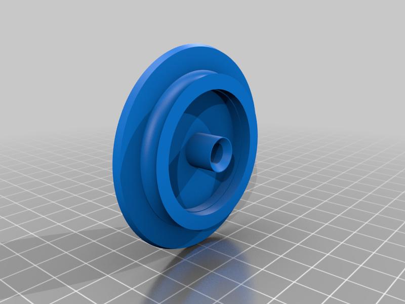 WEDGE_BODY_TOP.png Télécharger fichier STL gratuit Alimentateur de filaments horizontaux pour la chambre d'impression • Plan à imprimer en 3D, theveel