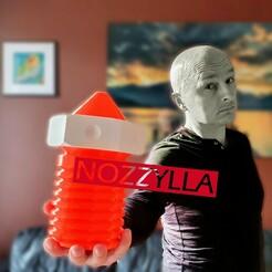 cultscover.jpg Télécharger fichier STL NOZZYLLA - organiseur de buses / conteneur / trieur • Design imprimable en 3D, theveel