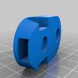 GRIP_BODY.png Télécharger fichier STL gratuit Alimentateur de filaments horizontaux pour la chambre d'impression • Plan à imprimer en 3D, theveel