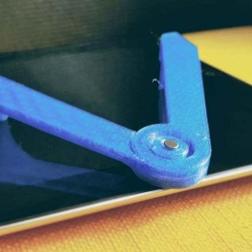 batch_20200323_102038.jpg Télécharger fichier STL gratuit Stand imprimé iPad 3d • Plan pour imprimante 3D, theveel