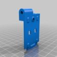BASE_BODY.png Télécharger fichier STL gratuit Moniteur OLED OctoPi [WemOled] • Plan imprimable en 3D, theveel
