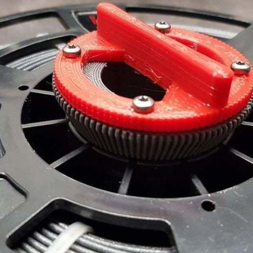 IMG_20190801_202834.jpg Télécharger fichier STL gratuit Recycleur de bobines de filaments • Design pour imprimante 3D, theveel