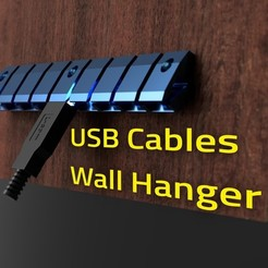 cover_usb_organizer_2020-Aug-02_07-31-52AM-000_CustomizedView25889649038_jpg.jpg Download free STL file 3Dprinted USB Cables Hanger • 3D print template, theveel