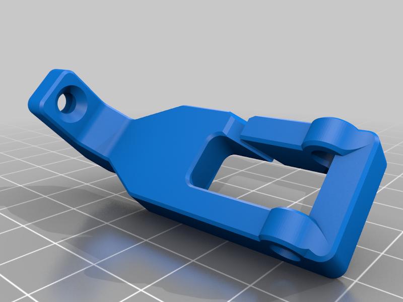GUIDE_BODY.png Télécharger fichier STL gratuit Alimentateur de filaments horizontaux pour la chambre d'impression • Plan à imprimer en 3D, theveel