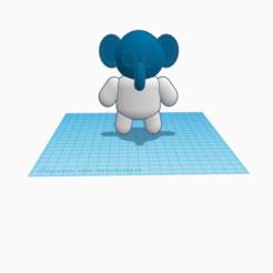 Shiny Hillar.png Download free STL file Elefante antropomórfico  • 3D printable template, cuentatinkercad