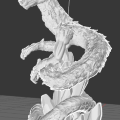 Capture3.PNG Download free STL file Chinese Dragon • 3D printable object, Rem33
