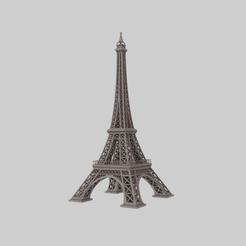 Render1.png Télécharger fichier STL gratuit Tour Eiffer • Plan à imprimer en 3D, raiks