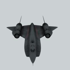 render6.png Télécharger fichier OBJ gratuit Avion intercepteur Lockheed YF-12A • Design imprimable en 3D, raiks