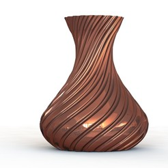 Spiral Vase Render.jpg Download STL file Spiral Vase • 3D print template, smart0586