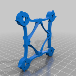 Hummingbee_super_light.png Download free STL file HummingBee • 3D printable template, TarkusxFPV