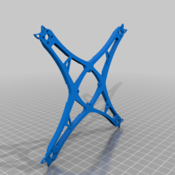 SENDHIT_4inch_1s_version.png Download free STL file SENDHIT 4inch 1s version • 3D printer template, TarkusxFPV