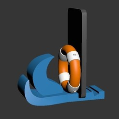 Screenshot_1.jpg Download STL file 4 position cell phone holder • 3D printing object, PrintLand
