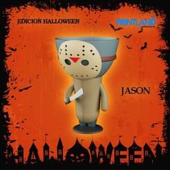 JASON.jpg Download STL file Robert Jason Pot - Hallowen Special • 3D printing template, PrintLand