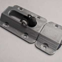 99801849-c18e-4818-b319-7dfe23275df7.jpg Download STL file Single lock, 3 sizes • Model to 3D print, John_Amano