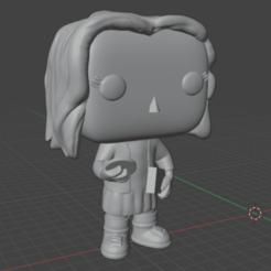 VISTA 1.png Télécharger fichier STL Costume Funko pop Eleven • Modèle pour imprimante 3D, Luzuriaga3d