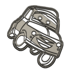 luigi.png Download STL file luigi cookie cutter • Object to 3D print, Luzuriaga3d