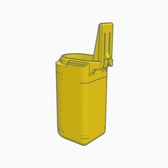 IMG_0009.jpg Download STL file 65 MM KRISS VECTOR BATTERY COVER EXTENDED • 3D printer template, rubikgro