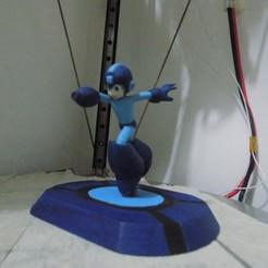 DSCN1231.JPG Download STL file Megaman • Template to 3D print, Cg696