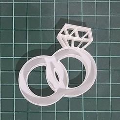 Anillo solo.jpeg Download STL file Wedding ring - weddings rings - boda - sortijas • Template to 3D print, ancuenca
