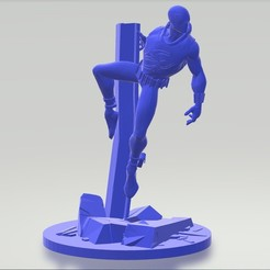 3d_model_0003_Capa 1.jpg Download STL file Spider Scarlet • 3D print design, nacbervaz