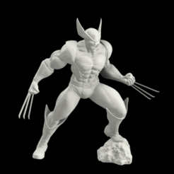 Screenshot 2020-09-29 235611.png Download STL file Wolverine  • 3D printing design, HerbHaruru