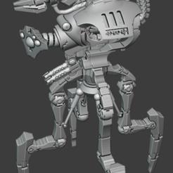 1.PNG Télécharger fichier STL gratuit Le grand DoomWalker • Modèle imprimable en 3D, JMo