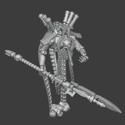 Plas.PNG Download free STL file Plasma driven Necromancer  • 3D printable model, JMo
