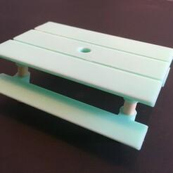 IMG-3659.JPG Télécharger fichier STL gratuit LOL Table de pique-nique surprise - Recyclez vos baguettes • Modèle imprimable en 3D, yozz