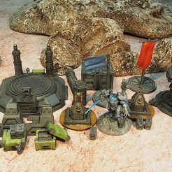 SciFiBundle01Shrunk.jpg Télécharger fichier STL Offre groupée de science-fiction sur les guerres • Design à imprimer en 3D, Orakio27