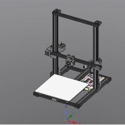 Vue_ensemble.JPG Télécharger fichier STL gratuit Cr10s standAlone new génération • Design imprimable en 3D, Franck6558