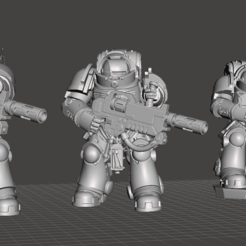 Capture3.PNG Download free STL file Thicc Microwave Men • Model to 3D print, Kolden