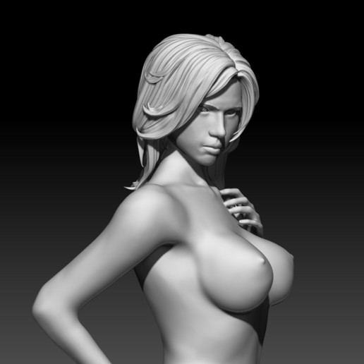 10.jpg Download STL file Fitgirl Sexy Posing • Template to 3D print, NSFW_Station